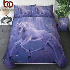 Printed Duvet Cover Set with 2 Pillow Shams Brushed Microfiber Hypoallergenic