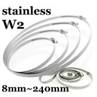 Stainless Steel 8-240mm Strong Garden Jubilee HOSE CLIPS Pipe CLAMPS MIX&PICK UK