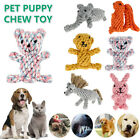 2021 Cute Pet Dog Chew Toy Squeaker Squeaky Soft Plush Puppy Chew Teeth Toys