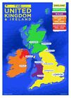 Poster UK And Ireland Country Map Mini 32 x 44cm