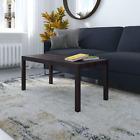 Parsons Coffee Table, Multiple Colors - White