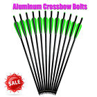 Crossbow Bolts Aluminum Arrows Archery Hunting Outdoor Target 16-22 inch 8.73mm