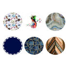 Polyester Dining Table Cover Tablecloth Round for Home Hotel ECO-FRIENDLY