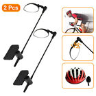 2/1pcs Bike Cycling Helmet Rearview Mirror Adjustable Bicycle Riding Safety Gear