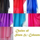 Full Length Belly Dance Veil 25 x 12m Chiffon Bollywood Dancing Scarf AA02