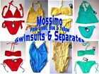 Mossimo Pink, Green, Blue & Yellow Swimsuits Sz S-XL