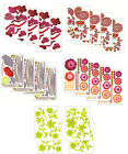 4x XL Wandtattoo Set Wandsticker Wand Aufkleber Blumen Ornamente Tattoo Sticker