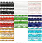 "Ten 16"" Strands of Assorted Glass Beads  *5-11x8mm Shapes & Colors"