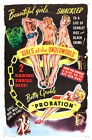 Girls of the Underworld c1940 Betty Grable 24x36 Canvas Classic Movie Poster