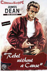 """James Dean in Rebel without a Cause- 24""""x36"""" Giclee Canvas Classic Movie Poster"""