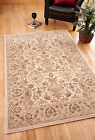 Cairo Cream Beige Traditional Persian Style New Zealand Wool Rug Small Large