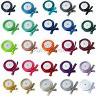 "1 Roll 25Yards 5/8"" 15mm Satin Ribbon Craft Bow Wedding Decoration Colors U Pick"