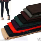Women Warm Winter Slim Leggings Thick Stretch Footless Bamboo charcoal Fiber