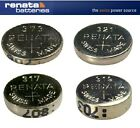 Renata 317, 319, 321, 373 1.55v Silver Oxide Watch Battery Posted From London UK