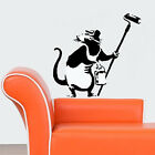 Banksy Paint Roller Rat Reusable Mylar Wall Stencil various sizes available