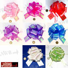 50MM LARGE BEAUTIFUL PULL BOWS VARIOUS COLOURS WEDDING/PARTY/GIFTWRAP
