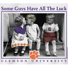 Clemson Tigers Football T-Shirts - Some Guys Have All The Luck