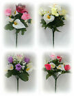 Calla Lily Rose Orchid Posy Silk Artificial Flowers Wedding Memorial