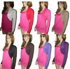 NEW COTTON FULL SLEEVE BEADED SHRUG BOLERO TOP  IN 8 COLORS SIZE 8 TO 14