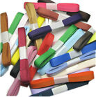 "3mm 6mm 9mm 15y 25y 50y 100y Mixed Assorted Grosgrain Ribbon 1/8"" 1/4"" 3/8"" Eco"