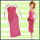 U Pick 1set Casual Party Cloth Dress Gown Cloth Outfit Shoes Handbag for Barbie
