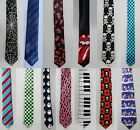 MEN'S FASHION TIE : 100% POLYESTER : PATTERN :