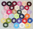 15mm x 5m, Black, Double Sided, Satin Ribbon, Weddings, Favours, Crafts Freepost