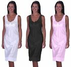 Womens/Ladies Anti Static Full Slip Underskirt With Front & Bottom Lace, Va
