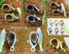 40pcs High quality jewelry finding Lobster Claw Clasps 6 color free ship