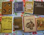 8 Miniature victorian books beeton bible CHOOSE 1:12th 1:24th scale dolls house