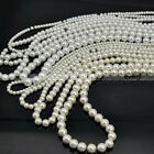 New 4mm/6mm/8mm/10mm Round Glass Pearl Beads