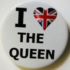The Queens Union Diamond Jubilee Heart Button Badge25mm, 38mm Or 58mm,