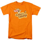 Cow and Chicken Logo Cartoon Network Licensed Adult Shirt S-3XL