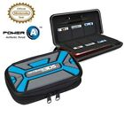 PowerA Nintendo 3DS Expedition Gaming Case Gray/Blue NOB