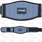 Neoprene Weight Lifting Belt Gym Fitness Wide Back Support Color Gray