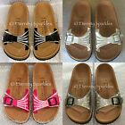 Customised Birkenstock Sparkling Crystal Bling Ladies Sandals Mules UK Sizes 3-7
