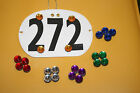 Horse Show Magnetic Number Holders Set Of Four