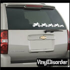 Family Kit Dirt Bike Family 02 Stick People Kit Car or Wall Vinyl Decal Stickers