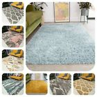 Modern Thick Soft Shaggy Rug Quality Small Extra Large Cheap Non Shedding Mats