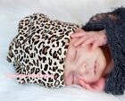 Baby Toddler Girl Cotton Leopard Warmhat Hat Cap Beanie for Pettiskirt outfit
