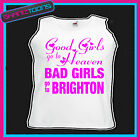 BAD GIRLS GO TO BRIGHTON HEN PARTY HOLIDAY VEST TOP