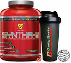 BSN SYNTHA 6 2.27 kg 5LB WHEY PROTEIN POWDER GAIN MUSCLE ALL FLAVOURS + SHAKER