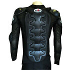 MOTORCYCLE MOTOCROSS BMX MX ATV BIKE GUARD KIDS PROTECTOR YOUTH BODY ARMOR BLACK