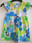 GIRLS CARTER'S LOVE TO TWIRL COLLECTION - BLUE/LIME FLORAL DRESS - AGES 2 - 6