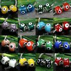 5pc Colorful Murano Lampwork Glass Evil Eye European Bead For Snake Bracelet DIY