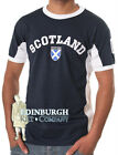 MEN'S 'SCOTLAND NO.9' T-SHIRT..100% COTTON..NAVY..SIZE XS TO XL..GREAT GIFT!