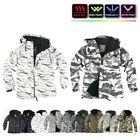 NWT Winter Mens Womens FullZip Snowboard Ski Jacket Jumper Hoodie Hooded Top GB
