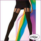 Very sexy and elegant mock suspender stockings tights hold-ups Gatta Girl-up