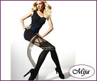 Very sexy and elegant mock suspender stockings tights hold-ups Gatta Girl-up 04