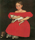 Girl in Red, c.1765- Ammi Phillips - Great American Paintings on Canvas